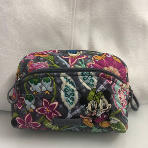 Vera Bradley Iconic Medium Cosmetic Bag Disney